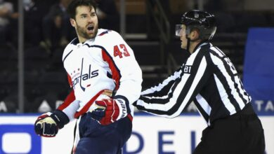 Capitals' Wilson fined $5K for roughing Rangers' Buchnevich