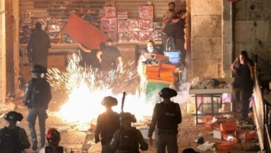 Jerusalem protests: Netanyahu defends Israeli action after clashes with Palestinians