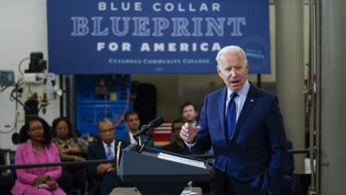 President Joe Biden on Friday divulged a $6 trillion financial plan for one year from now that is heaped high with new security net projects