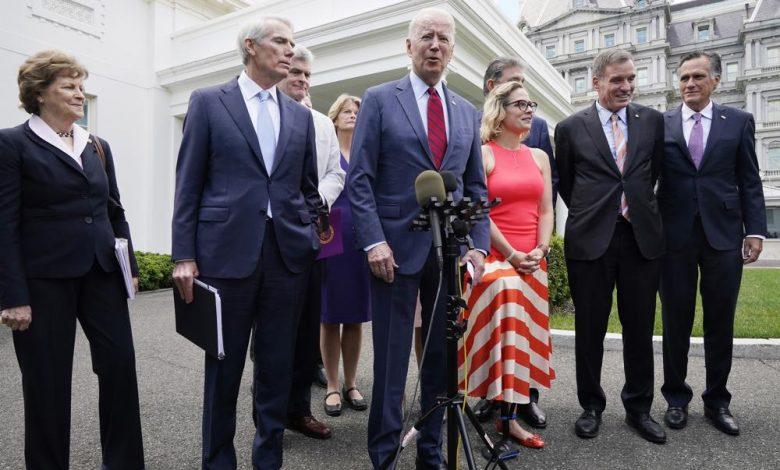 "President Joe Biden pronounced on Thursday that ""we have an arrangement,"" declaring a bipartisan concession to a $953 billion framework plan"