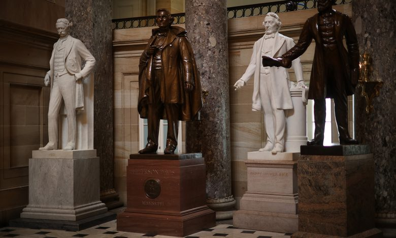 House to vote on bill to remove Confederate statues from the Capitol
