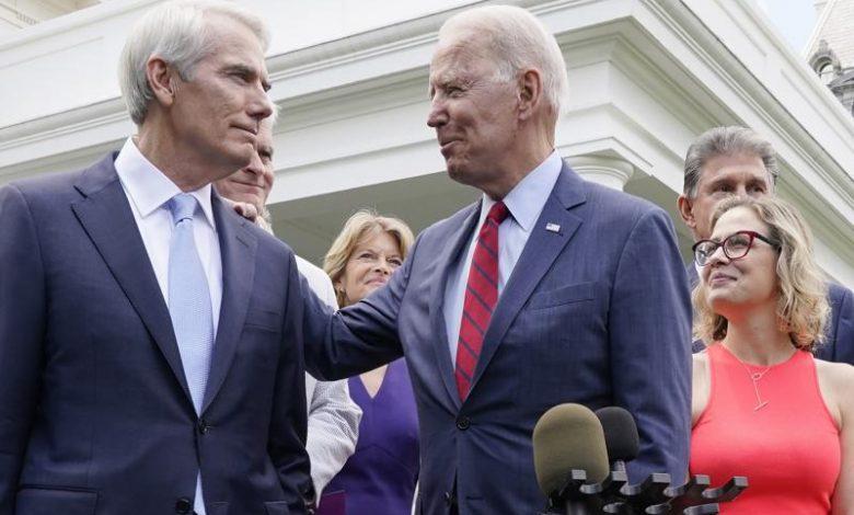 Bipartisan infrastructure deal back on track after walk-back