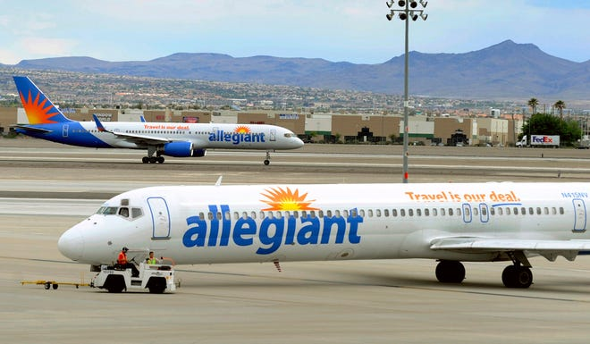 Allegiant expands to four more cities to keep up with growing travel demand