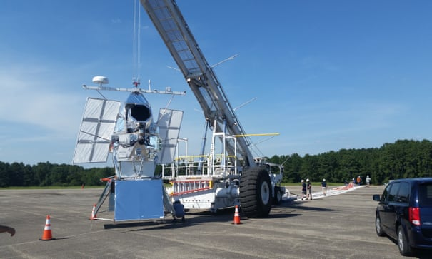 Enormous balloon could help astronomers get clear view of space