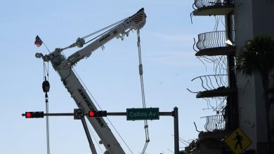 Drilling nearly done to demolish rest of collapsed condo