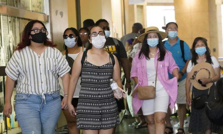 Mask are again maindatory in Los Angeles