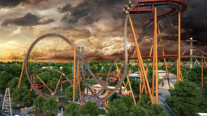 Prepare, daredevils – another crazy ride going to the US vows to give an elating encounter to riders.