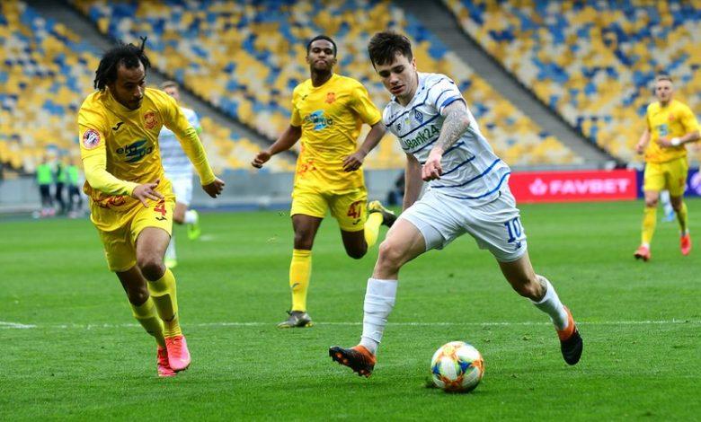 Dynamo Kiev could not beat Ingulets