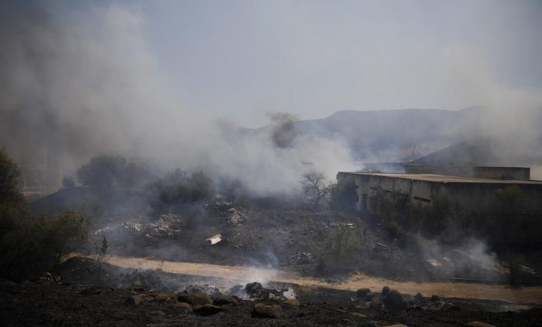Israel dispatches airstrikes on Lebanon in light of rockets
