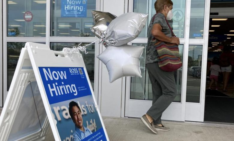 US hiring surges in July, unemployment rate drops to 5.4%