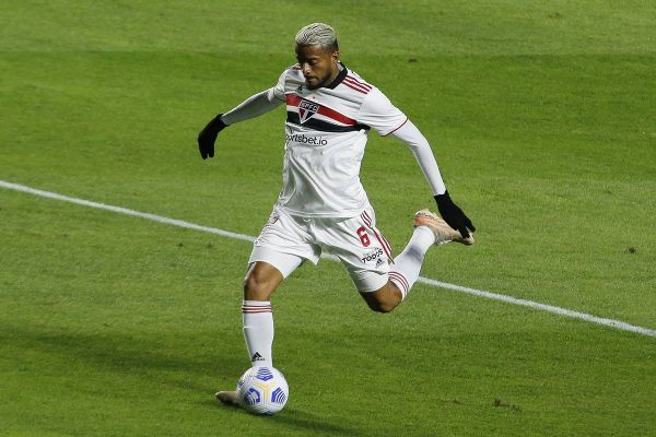 A curious case happened after the forward's elbow in the São Paulo side