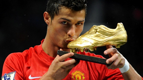 Cristiano Ronaldo (here a picture from 2008)