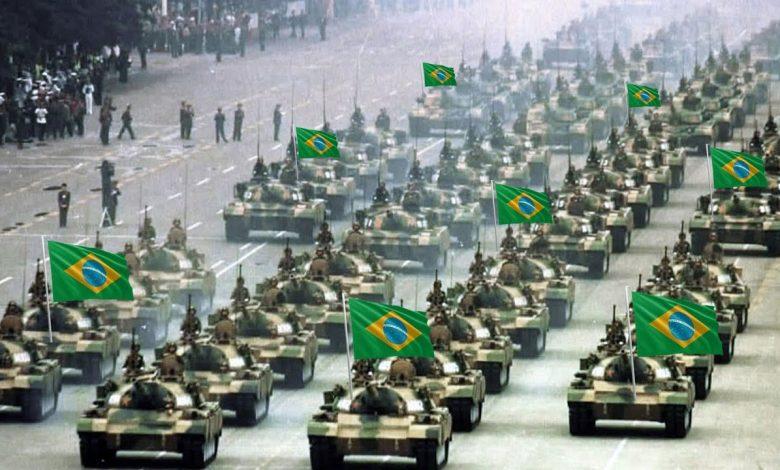 brazil military parade