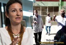 Soledad Acuña and the escrache of the teachers