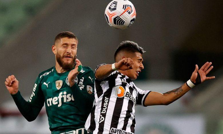 Palmeiras and Atlético Mineiro