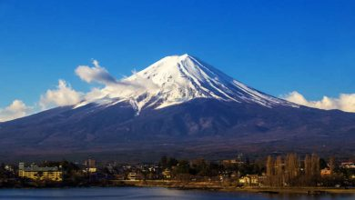 Mt. Fuji First season in Japan