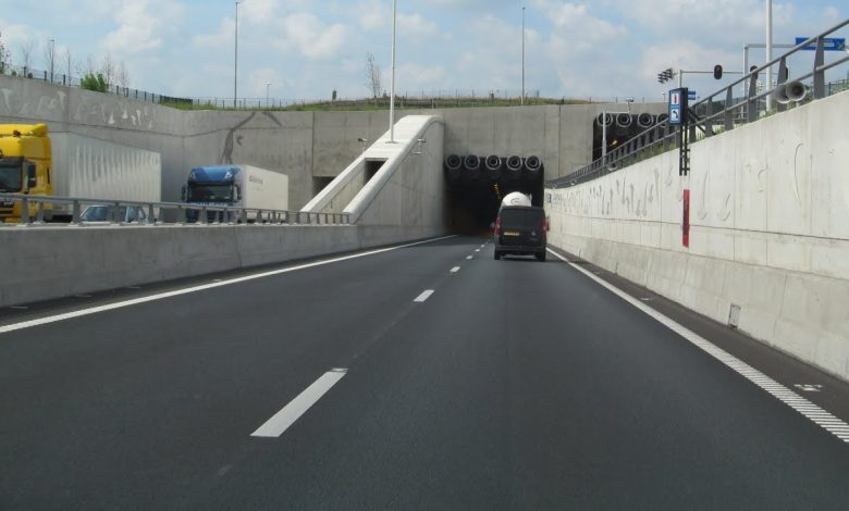 A2 tunnel in Maastricht