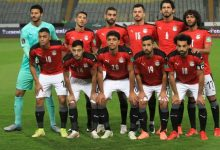 Egypt's national football team during its match against Libya in the 2022 World Cup qualifiers, at the Army Stadium in Borg El Arab - file photo