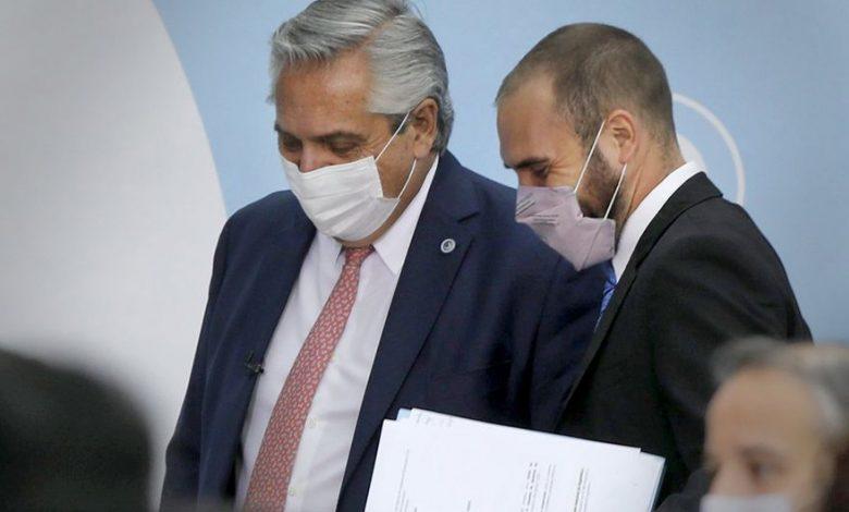 Alberto Fernández and Martín Guzmán.